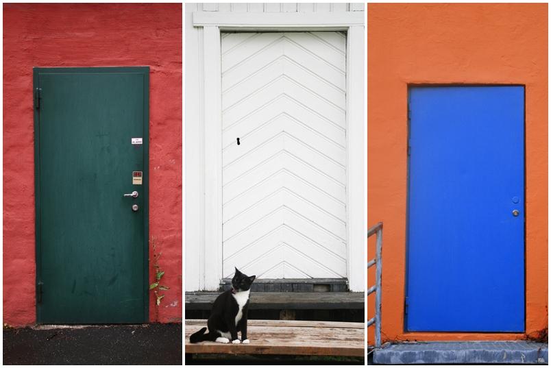 door-triptych